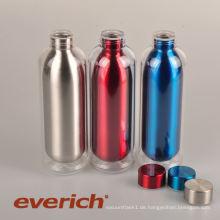 Werbe-Sweat-proof Kunststoff Edelstahl Wasserflasche