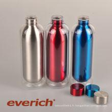 Bouteille d'eau en plastique en acier inoxydable promotionnelle