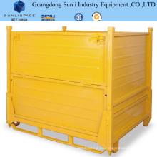 Palet caja de acero para trabajo en rack de acero inoxidable 1.5t