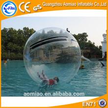 Bola del agua flotante / bola inflable del agua que rueda / bolas inflables del agua que recorren con la piscina