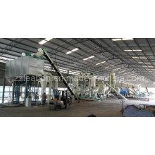 Secador de tambor rotatorio de la buena calidad de la fábrica para el fertilizante