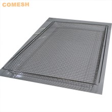 304 Stainless Steel Mesh Oven Baking Tray