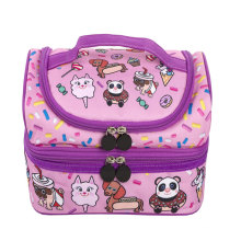 Multi-Compartment Wholesale Custom Cheap Portable Small Tote Kids Thermal Insulated Lunch Bag Box