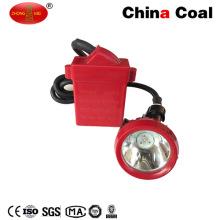 Untertagebergbau-LED-Kappen-Lampe für Bergmann