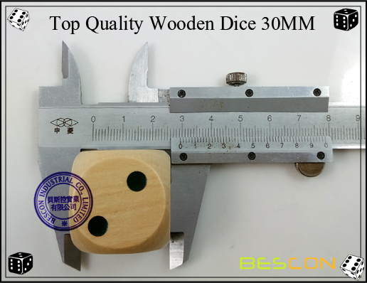 Top Quality Wooden Dice 30MM-4