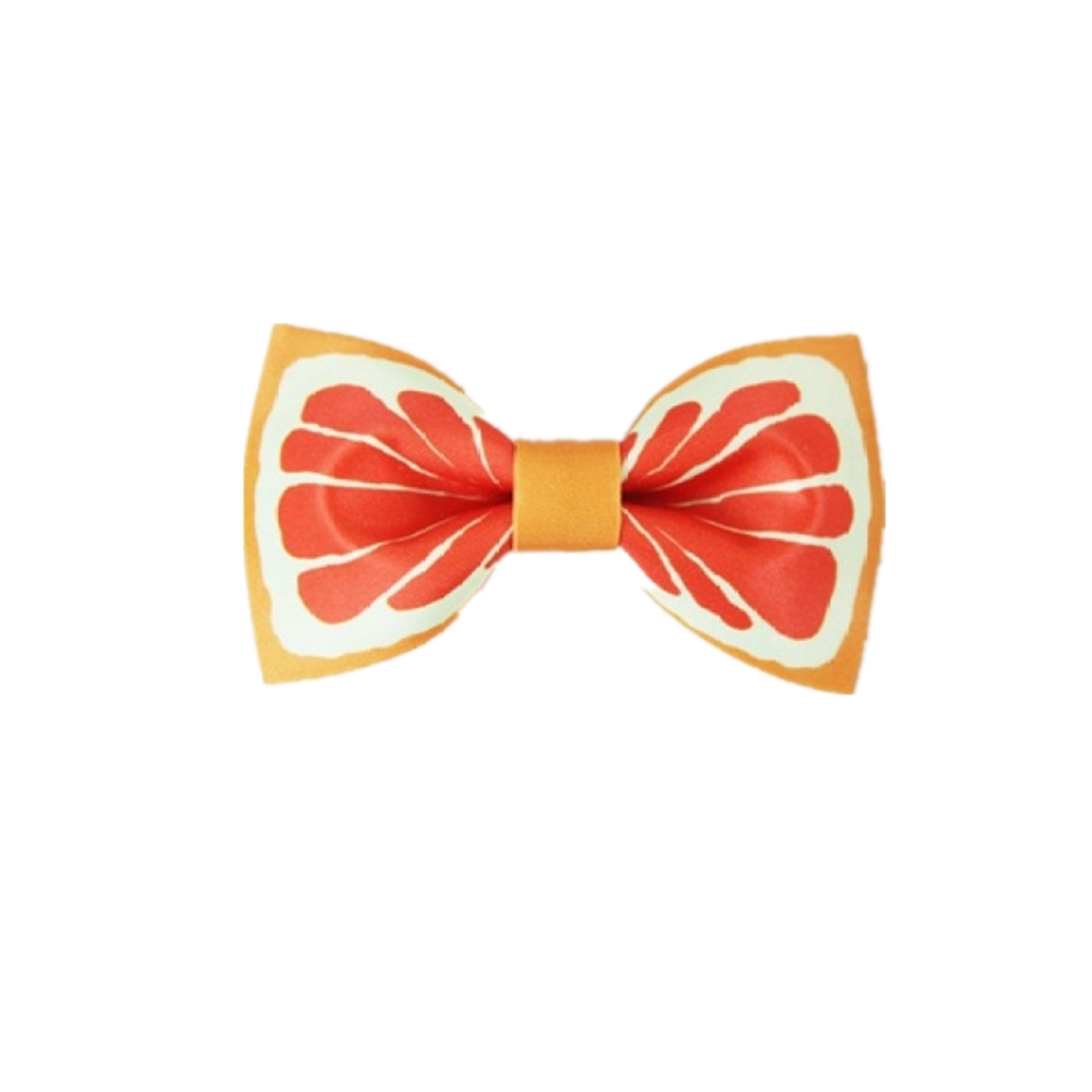 fruit printing neckbow