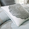 Madison Park Victoria Comforter Duvet Cover Medallion Blue Bedding Set