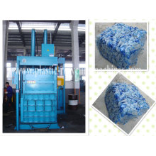 Bottle Pressing, Packing Vertical Hydraulic Baler Of Waste Plastic Auxiliary Machine