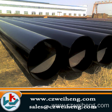 Hot sale for X52 LSAW Steel Pipe 3PE COATING BIG SIZE LSAW STEEL PIPE export to Iraq Exporter