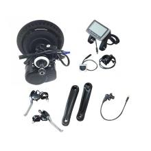 TSDZ-2 Kit de conversão de motor de acionamento médio para bicicleta elétrica