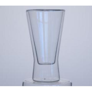 Borosilicate Coloured Double Wall Drinking Glass Cup Coffee Cup From China