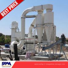 Phosphate de roche, moulin vertical de pyrophyllite de poudre d'application de minerai de fer pour le Vietnam