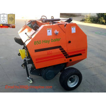 Tractor Pto Driven Mini Round Hay Baler for Russian Market