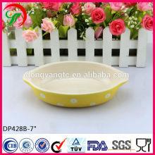 porcelain plate,personalized porcelain plates,stoneware baking plate