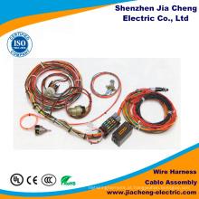 Conjunto de cabos elétricos das cablagens do equipamento médico da fábrica