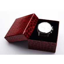 Wholesale Cotton Pad Textured Paper Watch Box