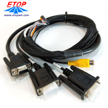 Customized RCA to D-SUB cable assemblies