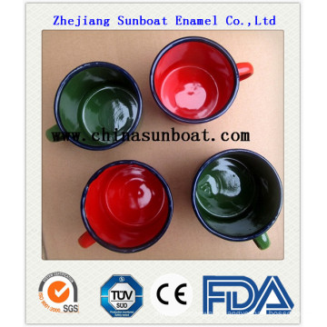 Enamel Chinese Style Water Mug