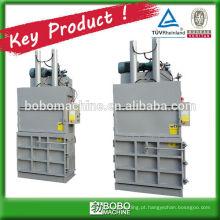 Material hidráulico reciclado de bala máquina