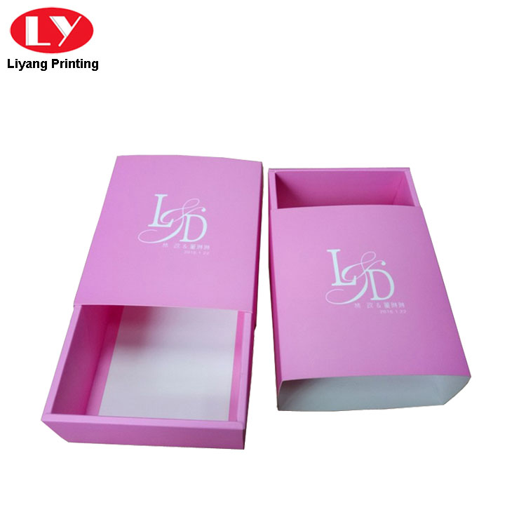 Pink Paper Gift Box