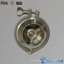 Санитарный обратный клапан из нержавеющей стали (новый дизайн)