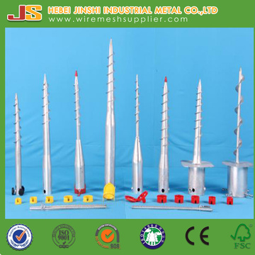 Galvanized Earth Screw Anchor, Ground Screw Anchor