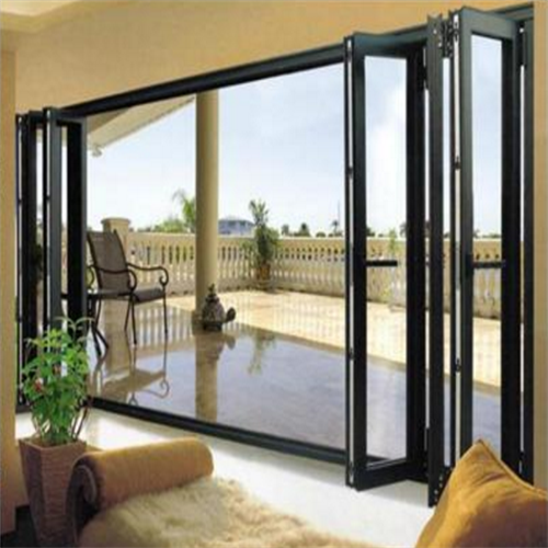 Aluminum Bifold Door with Double Tempered Glass