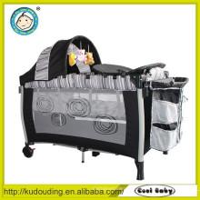 Alibaba Porzellanlieferant einfaches Babybett mit Netzen