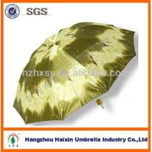 388 Falten Satin Material Regenschirm