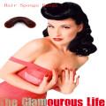Модные коричневые волосы губки с 2piece Clip (BUN-20)
