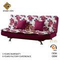 Muebles de dormitorio moderno chino tela sofá cama (GV-BS116)