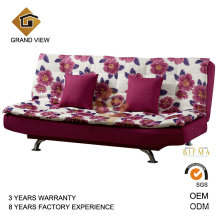 Modern Chinese Bedroom Furniture Fabric Sofa Bed (GV-BS116)