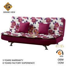 Mobiliário moderno quarto chinês tecido sofá-cama (GV-BS116)