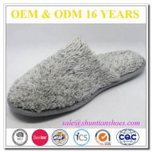 Zapatillas cómodas suaves de la felpa de la felpa de la felpa