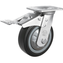 Heavy Duty PU Caster (Black) (Y4203)