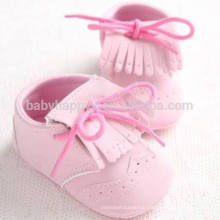 Newborn Infant Walker Baby Girls Boys Shoes Cute Soft Flat Leather Tassels for shoe