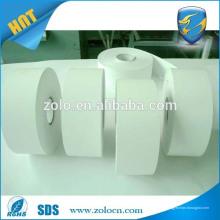 Fábrica de fabricación de papel desmenuzado adhesivo frágil Etiqueta en blanco de etiqueta engomada de huevo