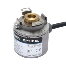 1200 pulse thickness 30mm encoder rotary h35 hollow shaft servo motor encoder robot