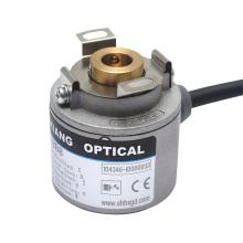 1200 impulsos de espessura 30mm codificador rotativo h35 impulsor do eixo oco motor codificador robô