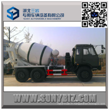 Moteur de Dongfeng CUMMINS outre du camion de mélangeur de béton de la route 6 M3