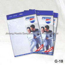 Qingdao Jimo Jinlong OPP saco de embalagem de vestuário de plástico, roupa interior / maiô / máscara / saco de peúga