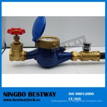 Высокая производительность счетчик воды с клапаном с высокого качества (БВ-820)