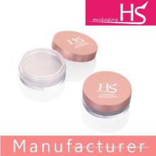 Leere kosmetische Kunststoff-lose Pulvergläser