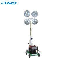 Levantamiento de la lámpara flexible opcional de la torre de luz móvil LED