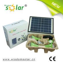 Kit d'éclairage solaire LED Smart avec 3 lamps(JR-SL988A) solaire