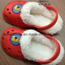 Chaud vente hiver ver EVA jardin chaussures pantoufle (fbj521-1)