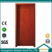 Personalice la puerta de PVC con el esqueleto de pino y relleno de MDF para proyectos