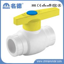 Vanne à bille en plastique PPR Type a-Fileté, vanne à bille en plastique, vanne, vanne en plastique, vanne PP-R