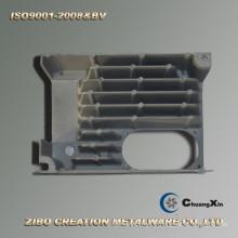 Base en aluminium à haute pression de radiateur de convertisseur de fréquence de moulage mécanique sous pression