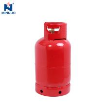 Cilindro de gás de 12.5kg LPG, garrafa de gás para o mercado de Nigéria